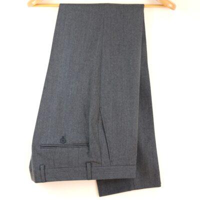 Pantalón gris vestir 100% lana