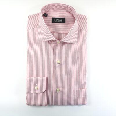 Camisa barra burdeos