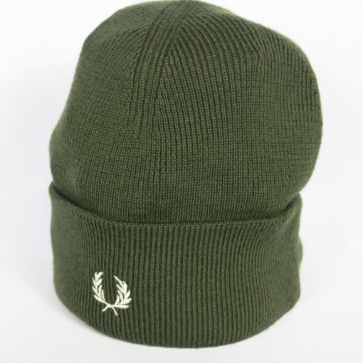 Gorro de lana Fred Perry verde